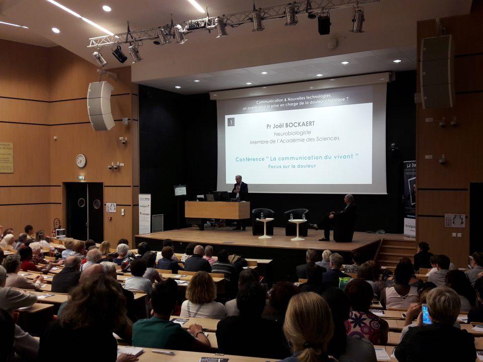 Photo conférence Journée Mondiale contre la Douleur - ANALGESIA