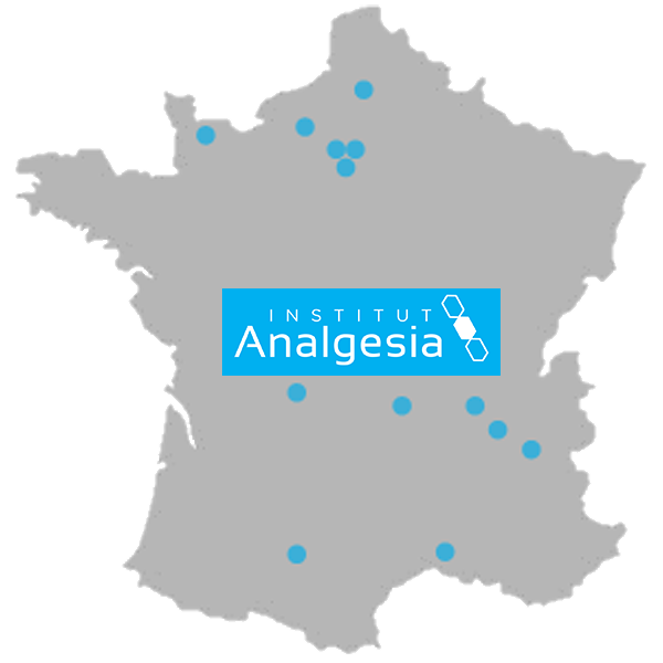 Carte France ANALGESIA