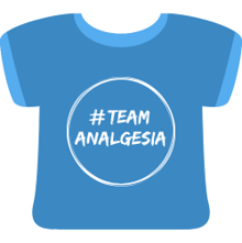 T shirt Team ANALGESIA