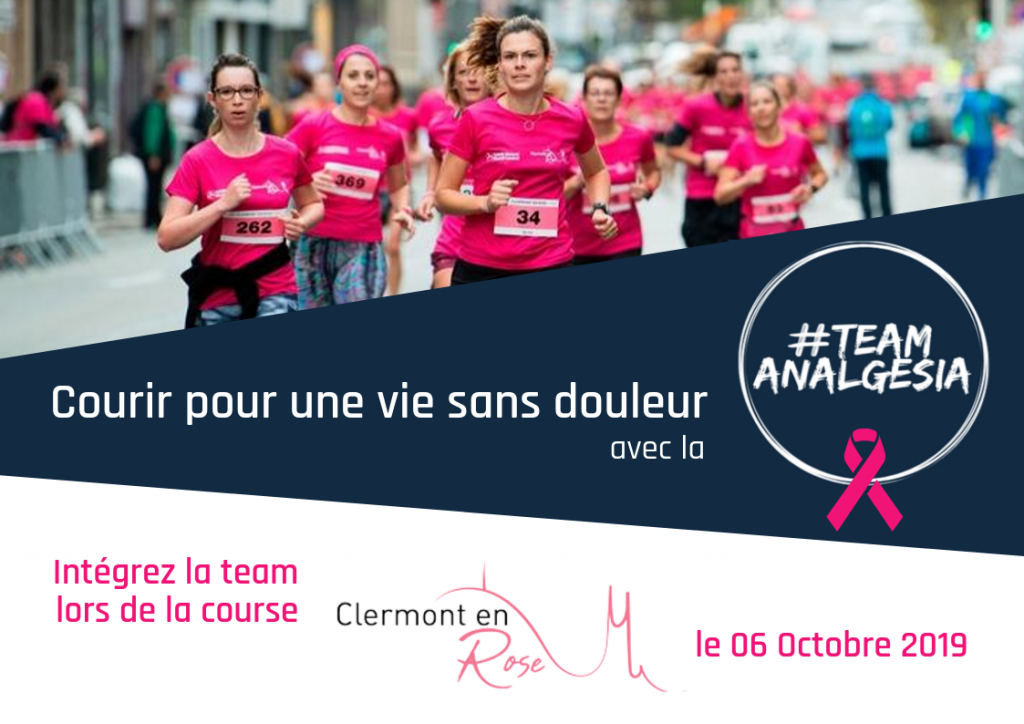 #TeamANALGESIA Clermont en Rose 1