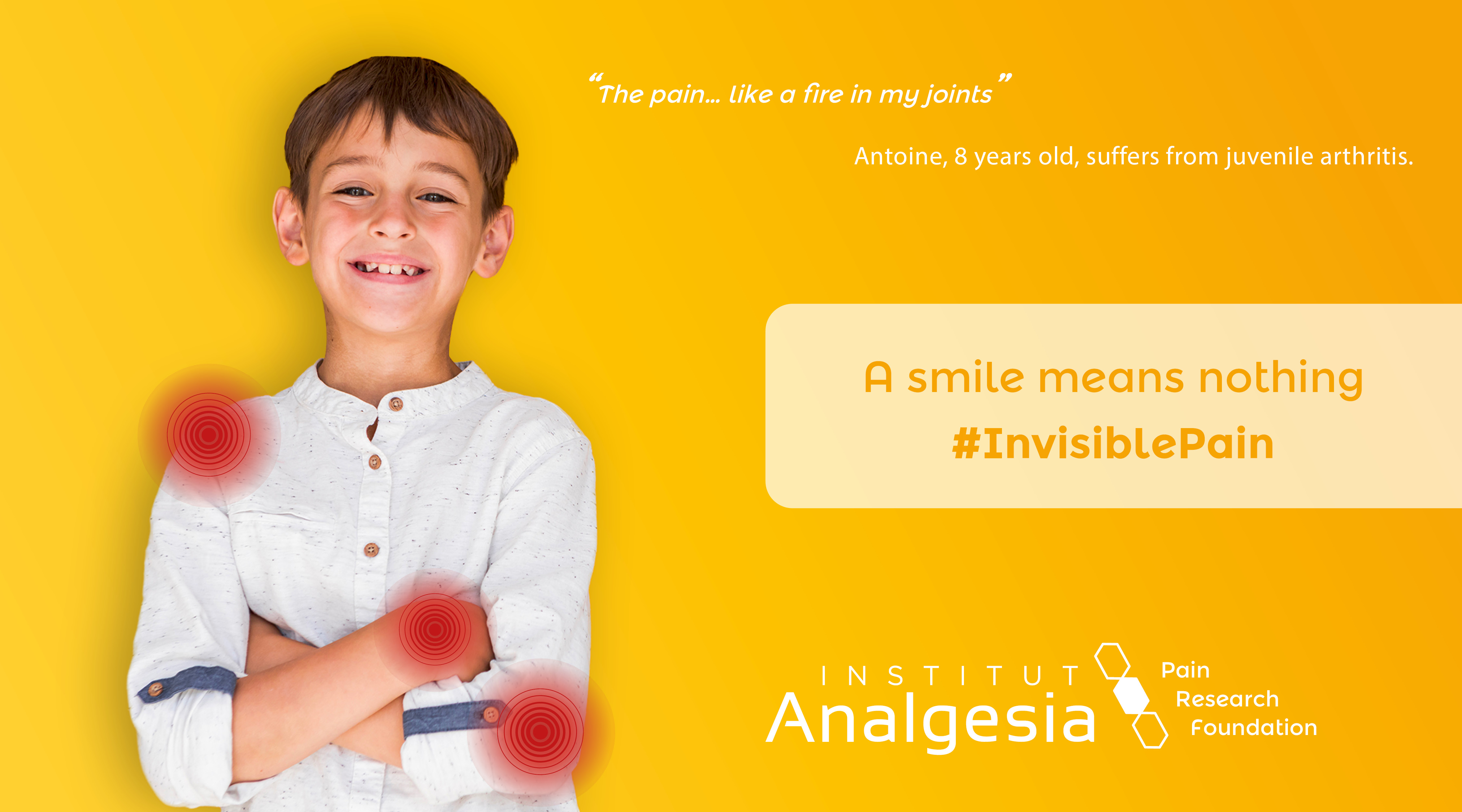 Invisible Pain campaign Antoine 2
